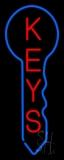 Vertical Keys Logo LED Neon Sign