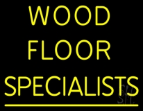 Wood Floor Specialist LED Neon Sign