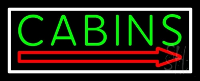 Cabin 2 LED Neon Sign