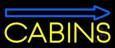 Cabins 1 Neon Sign