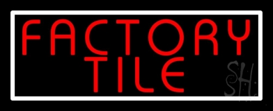 Factory Tile 1 LED Neon Sign