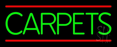 Green Carpets 1 LED Neon Sign