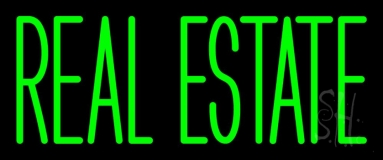 Green Real Estate 1 Neon Sign