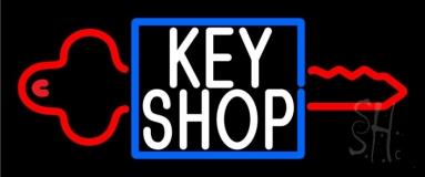 Key Shop 1 LED Neon Sign