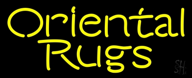 Oriental Rugs 2 Neon Sign