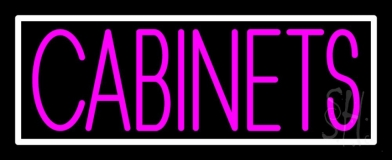 Pink Cabinets 1 LED Neon Sign