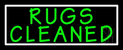 Rugs Cleaned 1 LED Neon Sign