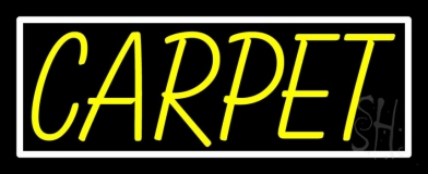 Yellow Carpet 1 LED Neon Sign