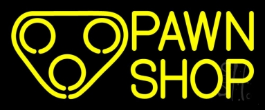 Double Stroke Pawn Shop 1 LED Neon Sign