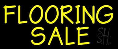 Flooring Sale 2 Neon Sign