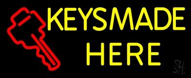 Keys Made Here 1 LED Neon Sign
