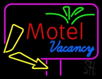 Funky Motel Vacancy LED Neon Sign
