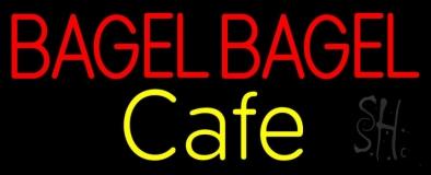 Bagel Bagel Cafe LED Neon Sign