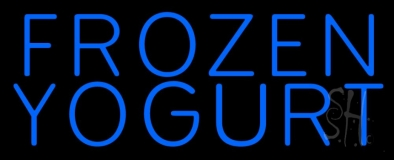 Frozen Yogurt LED Neon Sign