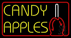 Candy Apples LED Neon Sign