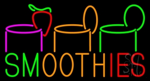 Smoothies LED Neon Sign