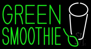 Green Smoothie LED Neon Sign