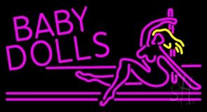 Baby Dolls Girls Strip Club LED Neon Sign