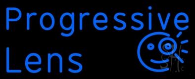 Progressive Lens LED Neon Sign