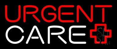 Red Urgent Care Plus Logo 1 Neon Sign