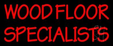 Wood Floor Specialist 1 LED Neon Sign