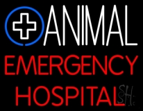 Animal Emergency Hospital LED Neon Sign