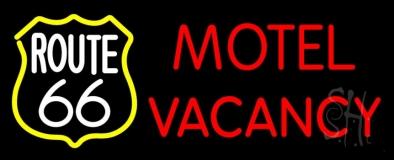 Block Motel Vacancy LED Neon Sign