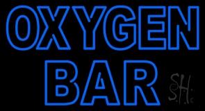 Blue Oxygen Bar LED Neon Sign