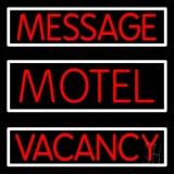 Custom Motel LED Neon Sign