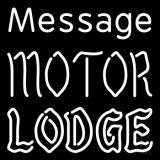 Custom Personalized Motor Lodge LED Neon Sign