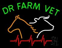 Dr Farm Vet LED Neon Sign