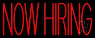 Now Hiring Bar LED Neon Sign