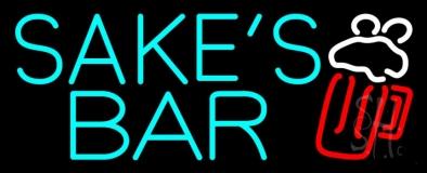 Sakes Bar LED Neon Sign