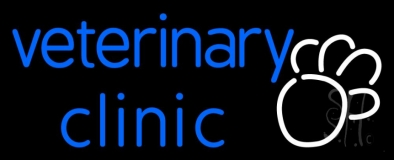 Veterinary Clinic LED Neon Sign