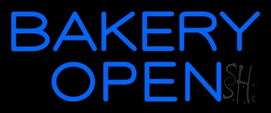 Bakery Open 3 LED Neon Sign