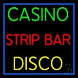 Casino Strip Bar Disco LED Neon Sign