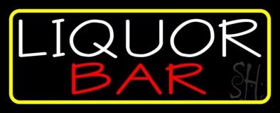 Liquor Bar 1 LED Neon Sign
