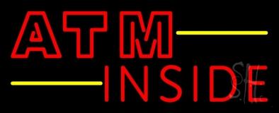 Atm Inside Block LED Neon Sign
