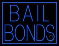 Blue Bail Bonds LED Neon Sign