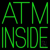 Green Atm Inside LED Neon Sign
