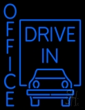 Office Drive In LED Neon Sign