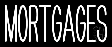 Green Mortgage LED Neon Sign