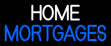 Home Mortgage LED Neon Sign
