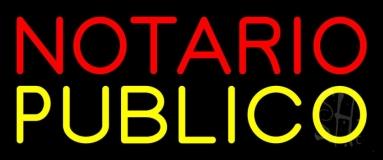 Notario Publico LED Neon Sign