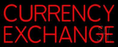 Currency Exchange LED Neon Sign