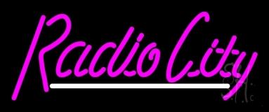 Cursive Radio City LED Neon Sign