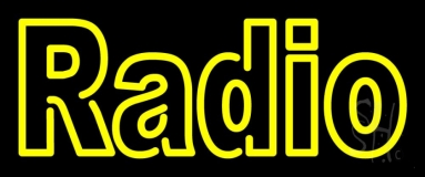 Double Stroke Radio LED Neon Sign