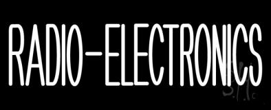 Radio Electronics LED Neon Sign