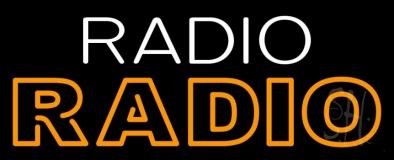 Radio Radio LED Neon Sign