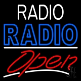 Radio Radio Open LED Neon Sign